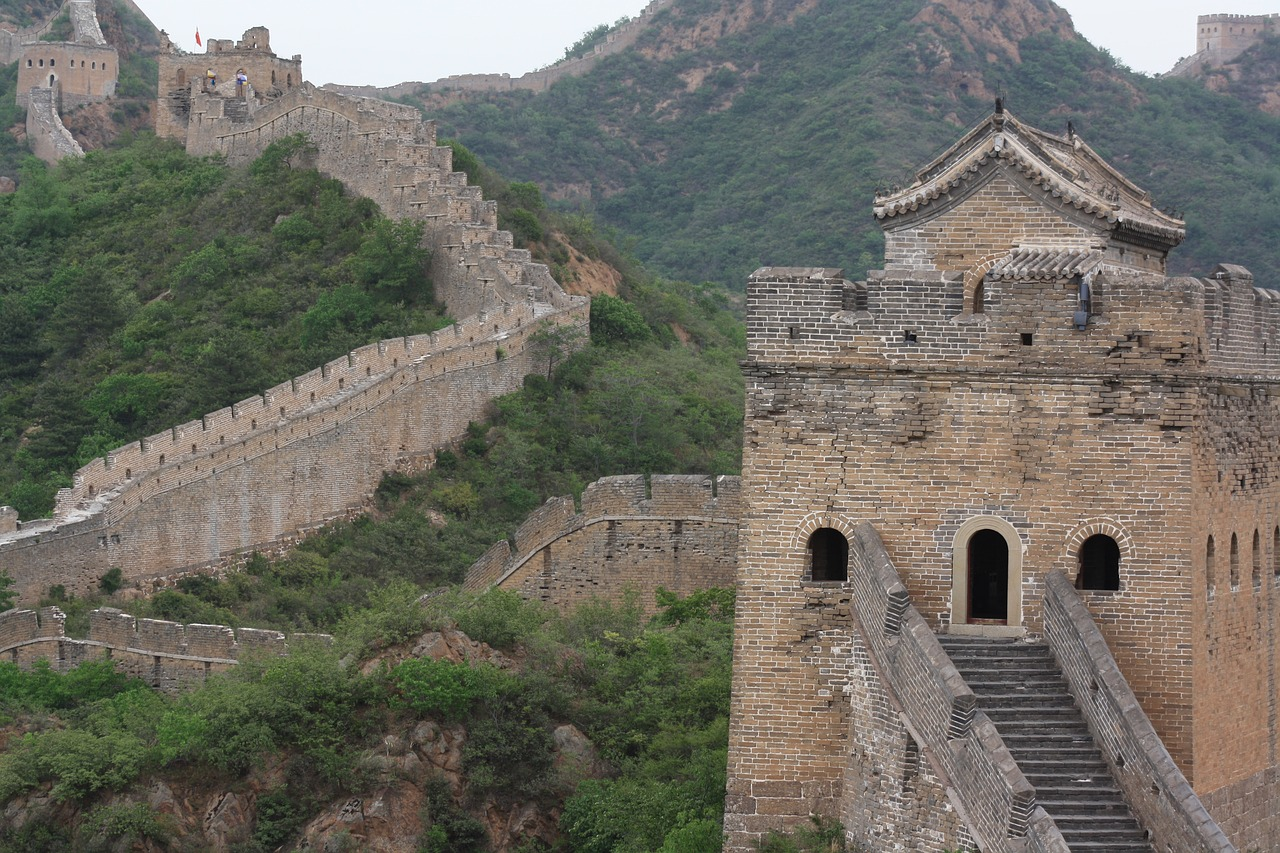 Великая китайская стена, Китай (Азия) фото