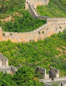 как выглядит великая китайская стена