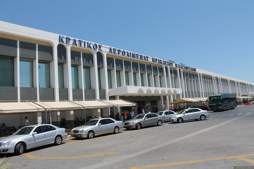 Фото Аэропорт Никос Казандзакис