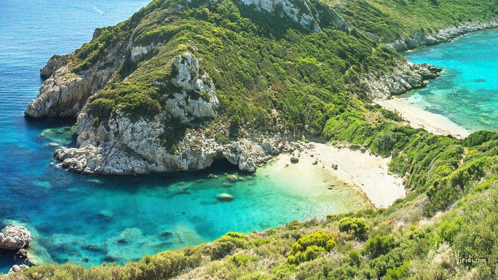 Пейзажи Греции Корфу