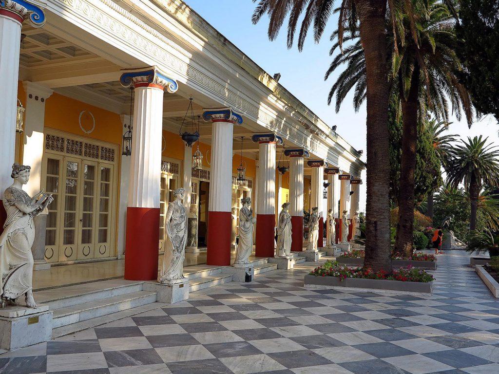 дворец ахиллеон корфу фото
