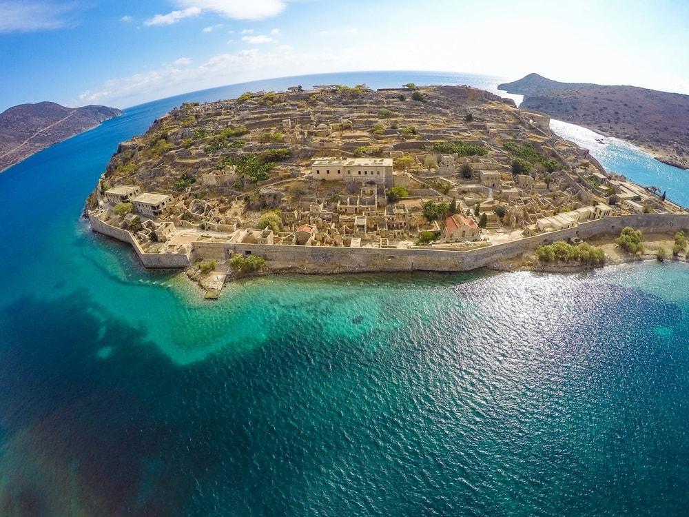 Остров Спиналонга Крит фото