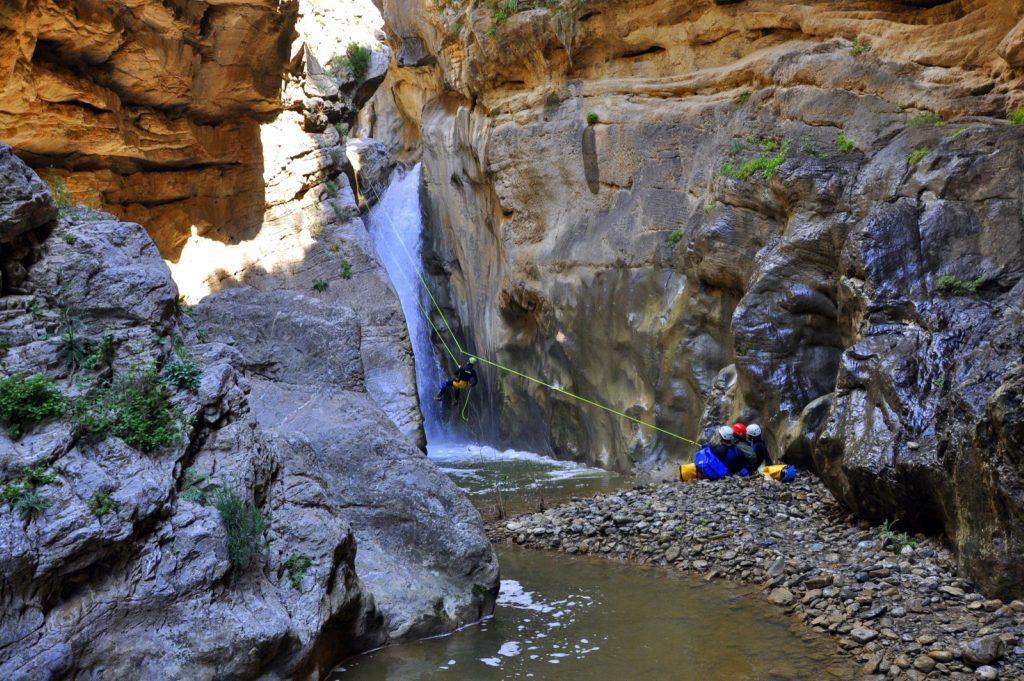 Остров Крит каньон