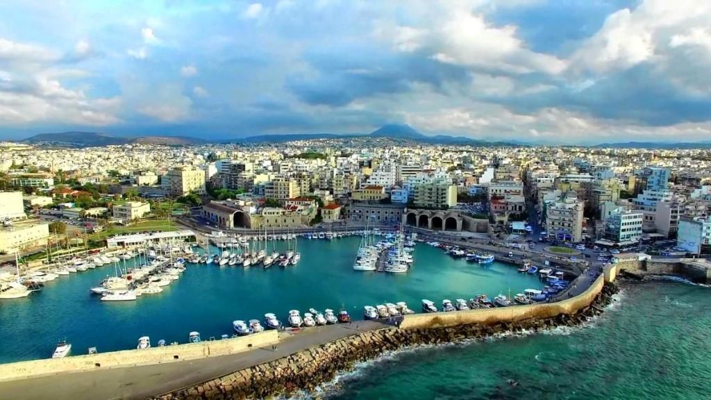 Ираклион фото города