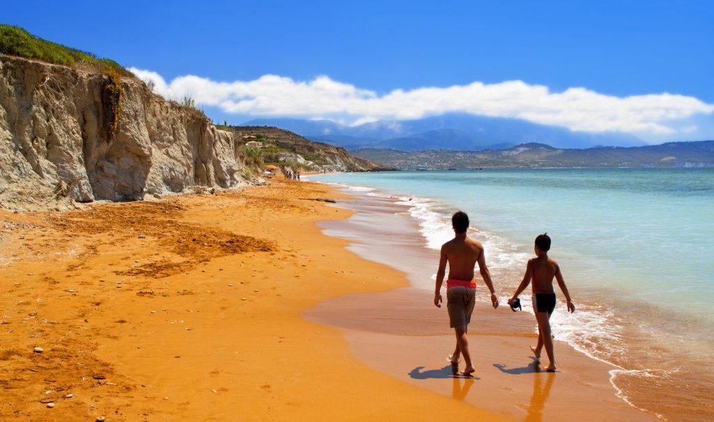 Пляж кси Кефалония