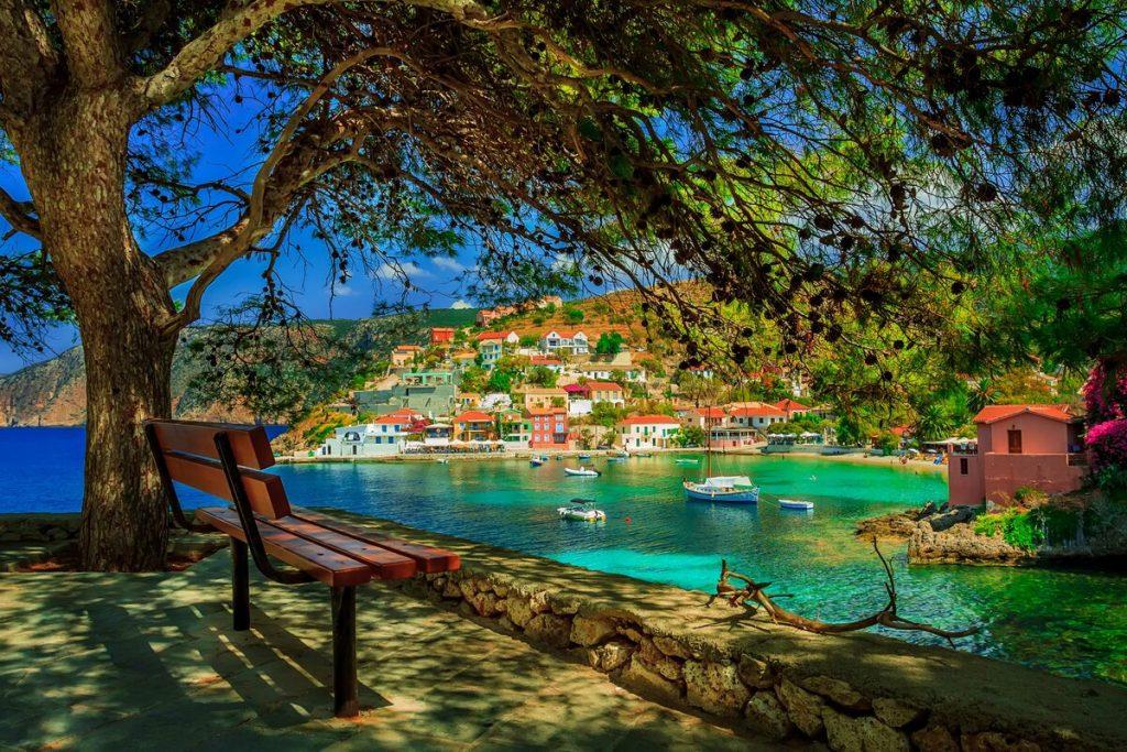 Остров Кефалония Греция фото