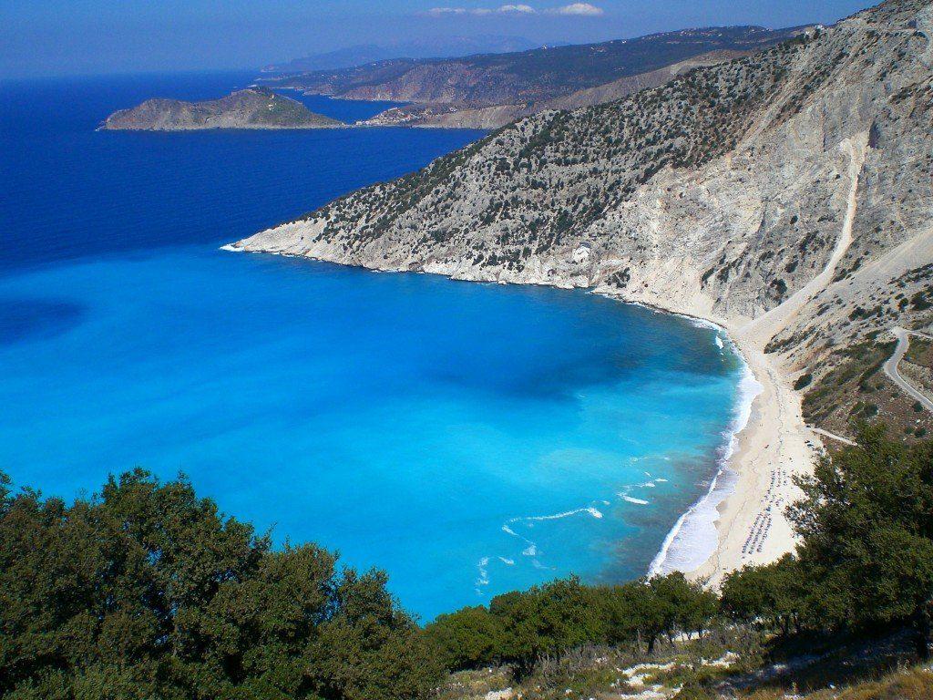 пляжи фото Остров Кос
