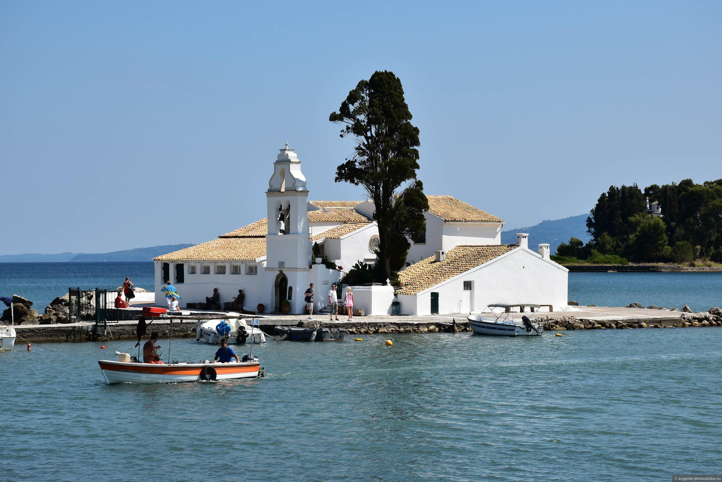 фото монастырь Влахерна Корфу