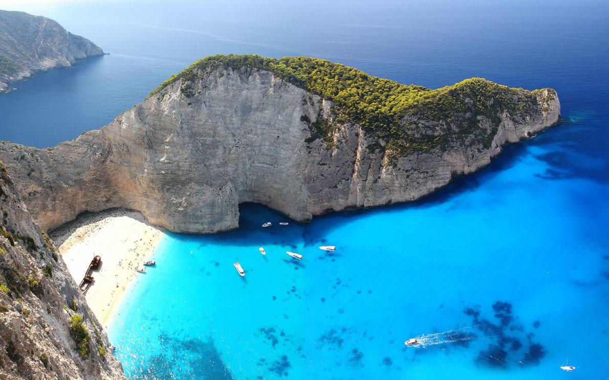Пляж Навагио Греция