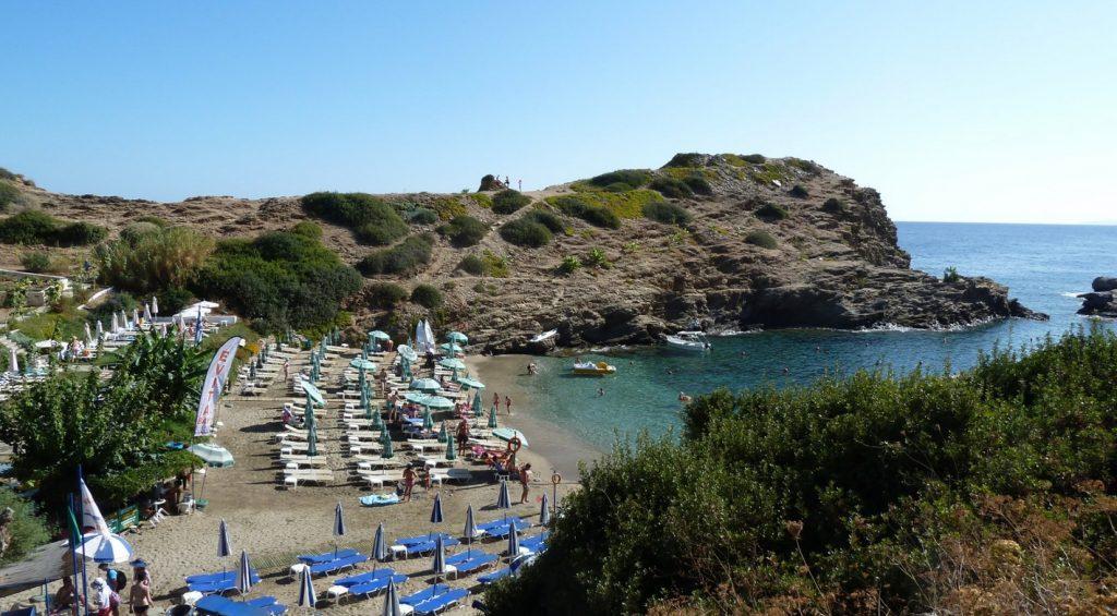 Пляж Сарантарис фото