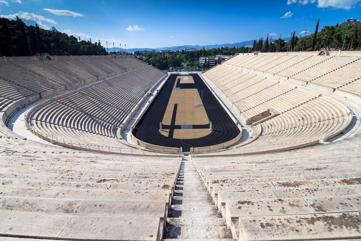 Олимпийский стадион в Греции