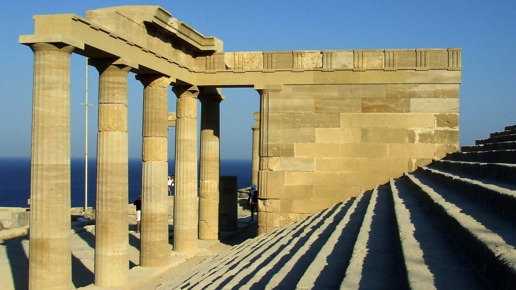 Храм Зевса Родос