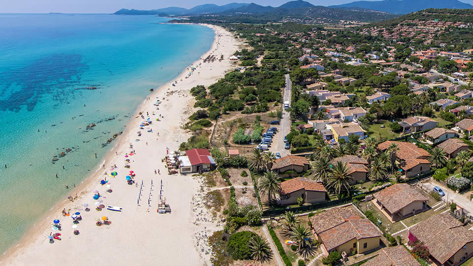 Коста Рей Сардиния пляж