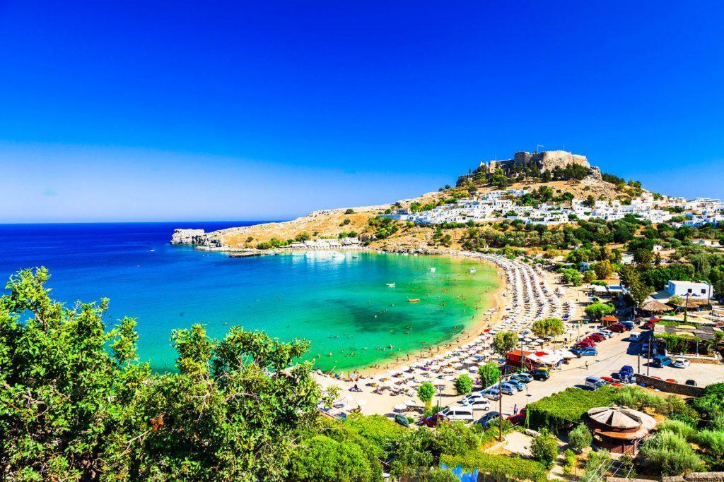 линдос родос фото пляжа