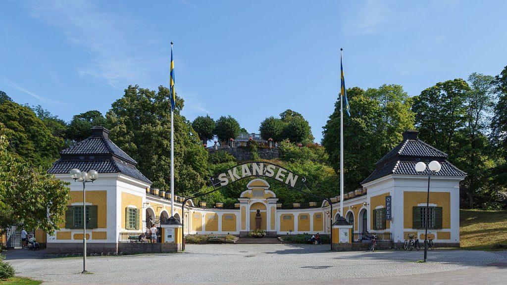 Скансен Швеция фото