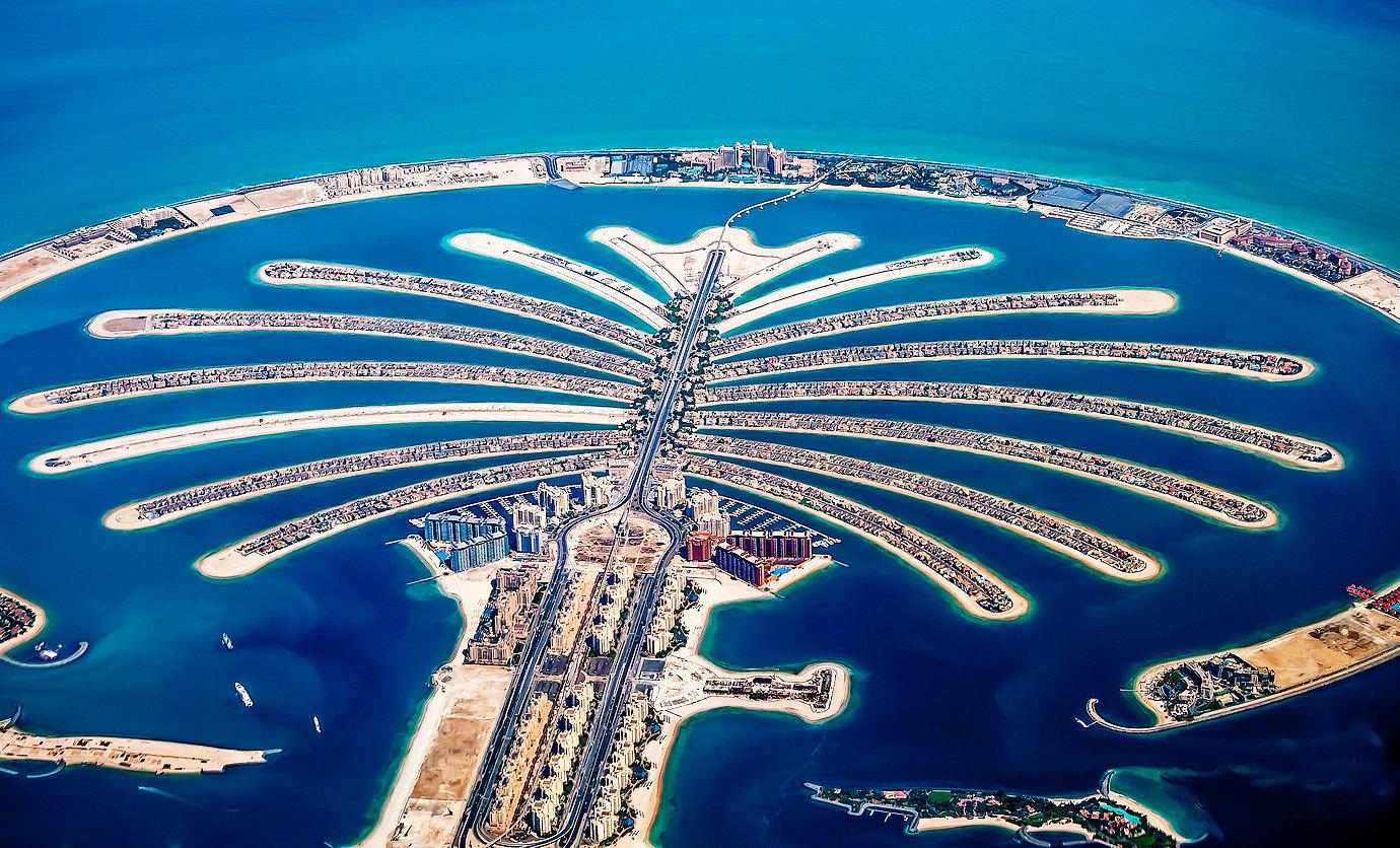 пальмовый остров в дубае фото