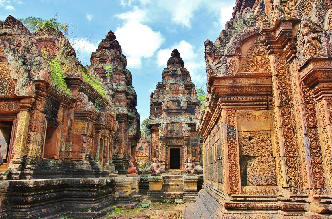Камбоджа достопримечательности Ангкор